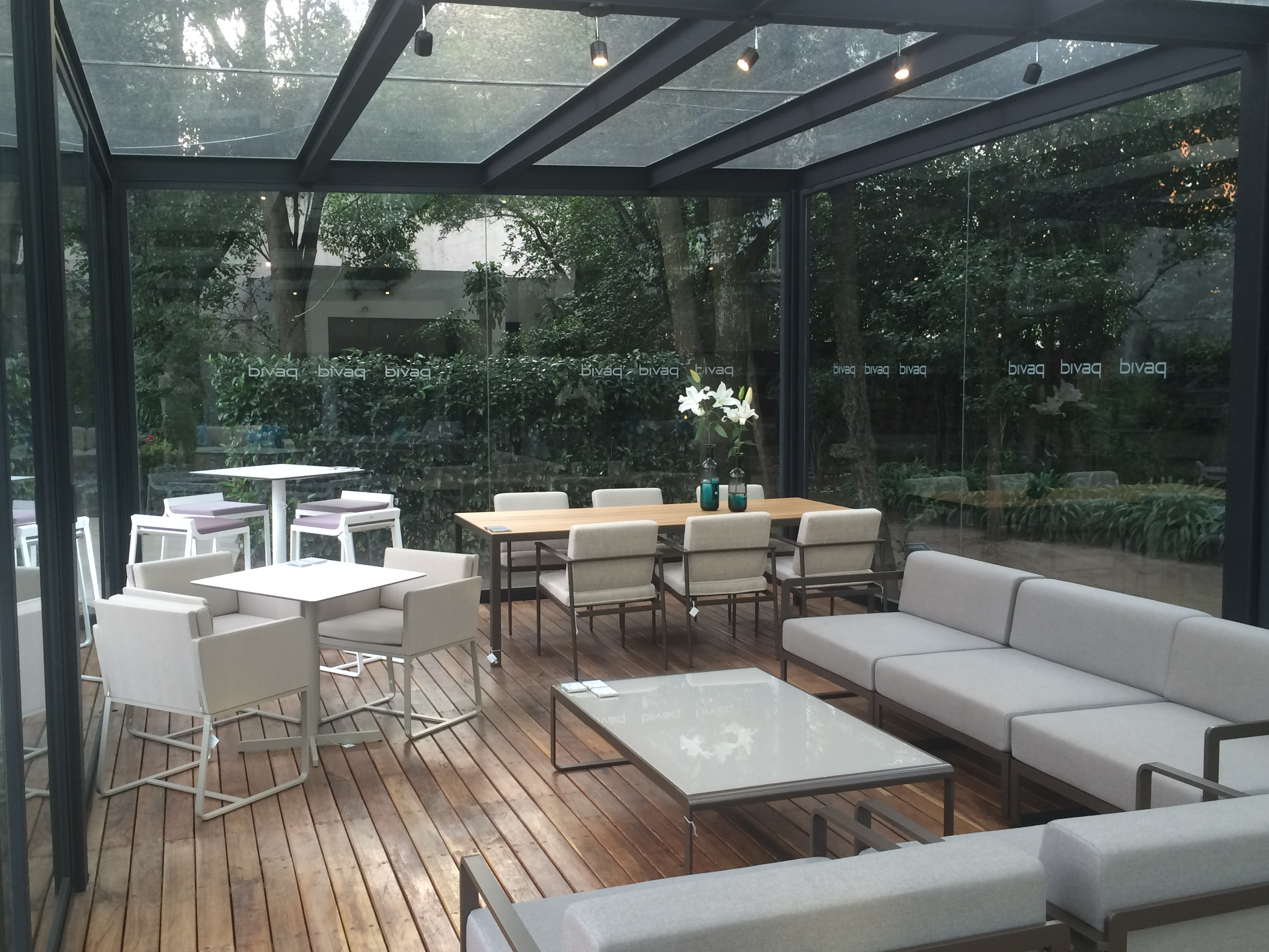 outdoor furniture showroom Bivaq