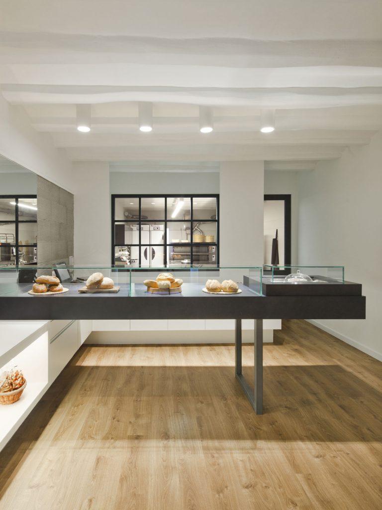 bakery bivaq indoor outdoor design architecture barcelona