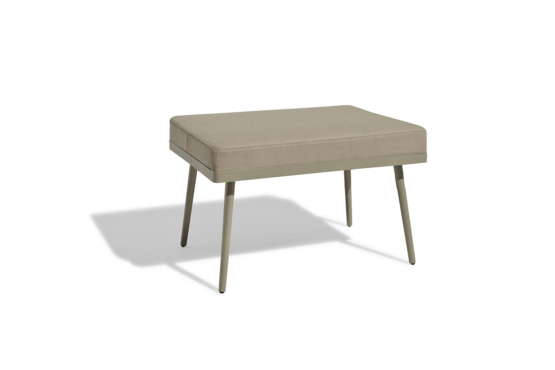 outdoor furniture terrace garden bench footstool barcelona