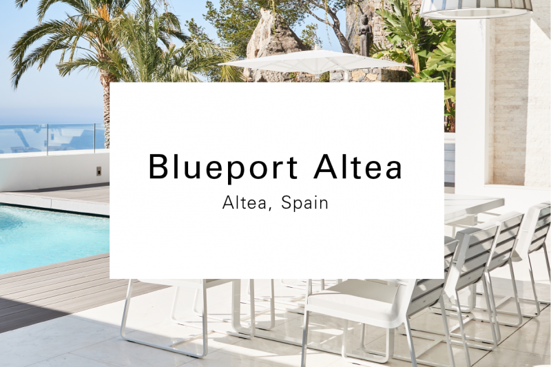 Blueport Altea Outdoor Furniture Product Design Luxury