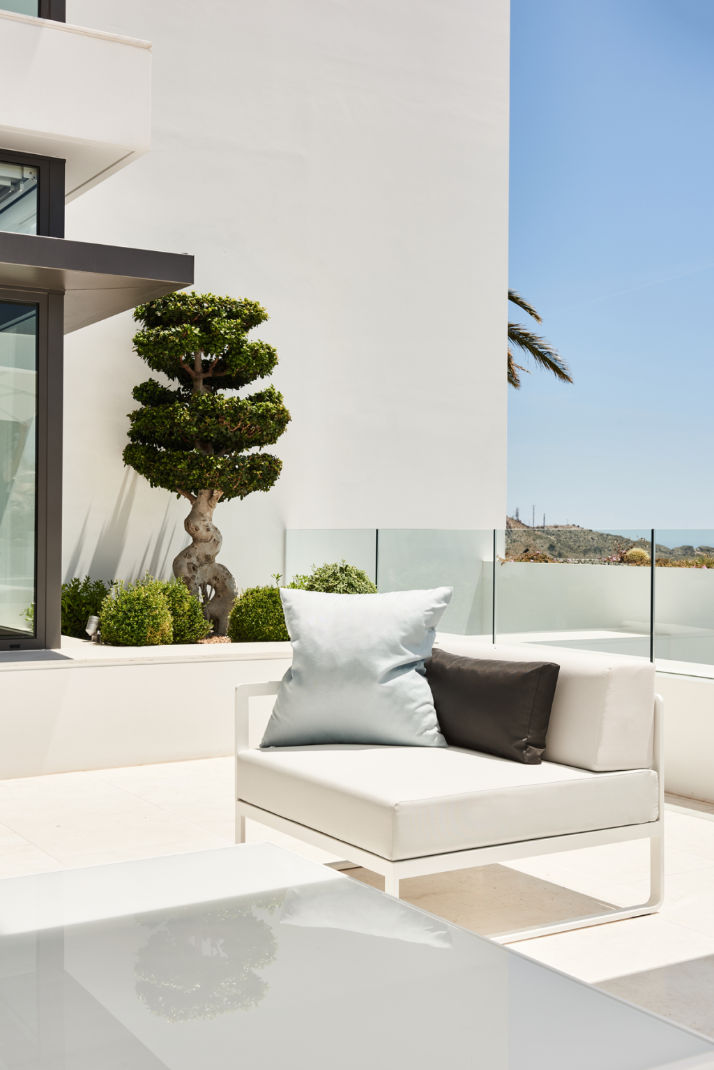 Sit lounge sofa Altea outdoor furniture bivaq blueport altea luxury