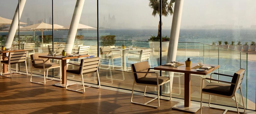 bab al yam restaurant outdoor furniture bivaq sit collection burj al arab