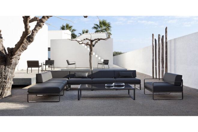 Sit módulo central/esquineros/reposapiés/mesa baja
