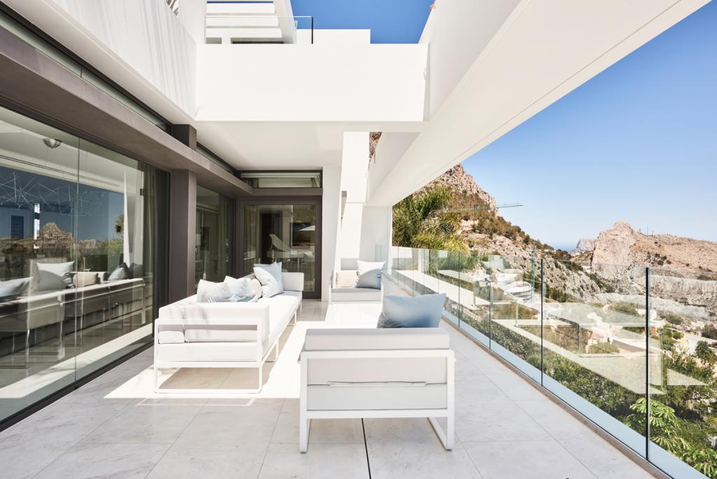 Mountain view Sit Lounge sofas outdoor furniture bivaq blueport altea luxury