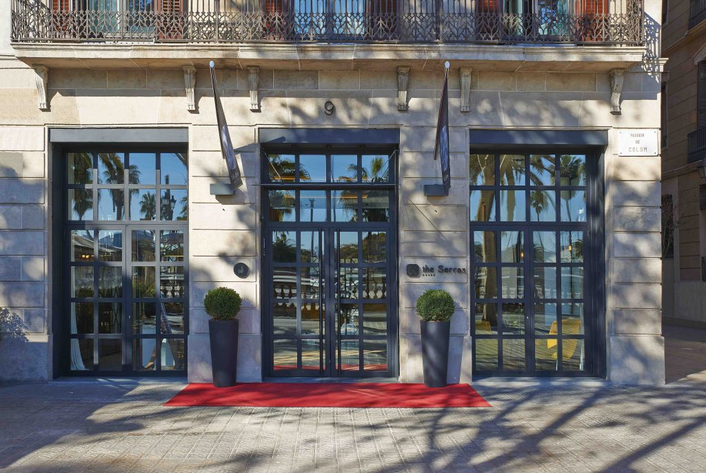 The Serras Entrance low