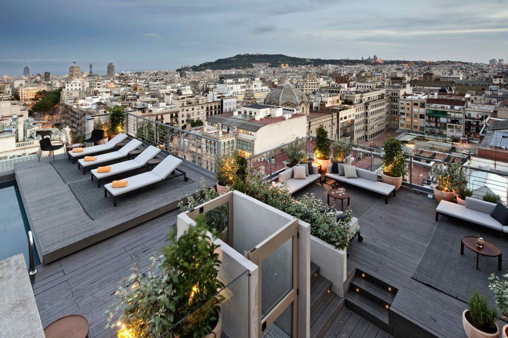 NH Calderon Barcelona Bivaq furniture outdoor